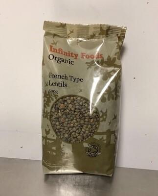 Infinite Foods Green Lentils