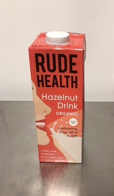 Rude Health Foods Hazelnut Drink