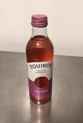 Equinox Kombucha Wild Berry