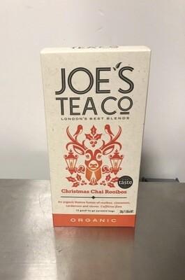 Joe's Tea Christmas Chai Rooibos