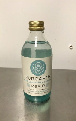 Purearth Kefir Lemon & Spirulina