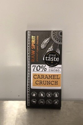 Raw Spirit Chocolate Company Caramel Crunch