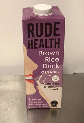 Rude Health Foods Brown Rice Drink