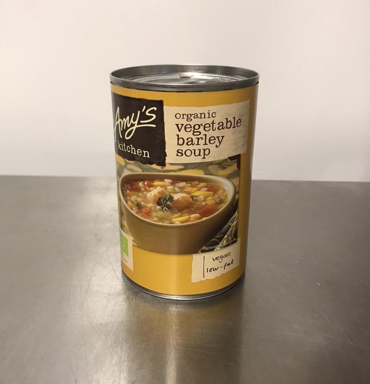 Amys Kitchen Vegetable Barley Soup