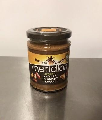 Meridian Organic Crunchy Peanut Butter Crunchy