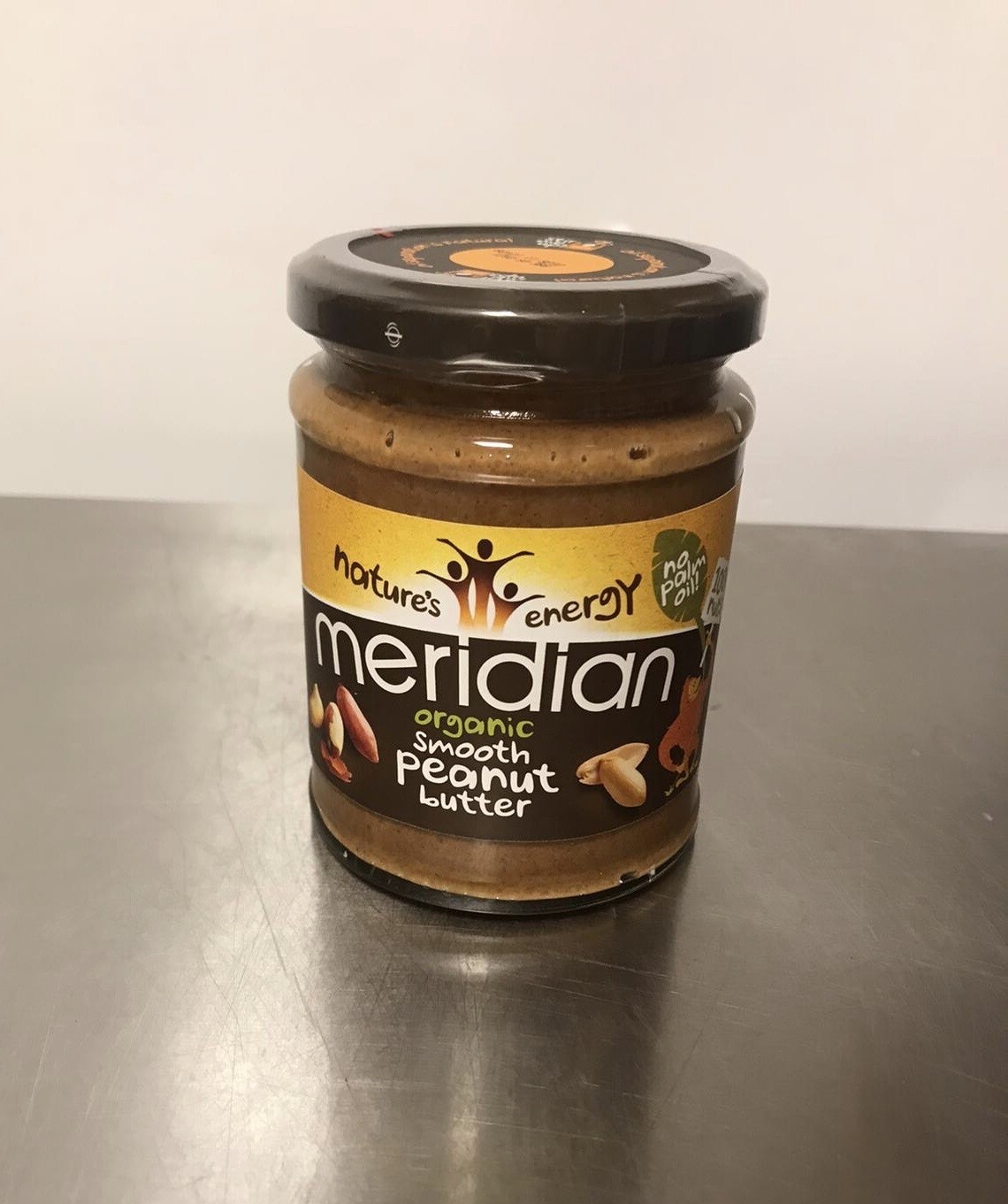 Meridian Organic Crunchy Peanut Butter Smooth
