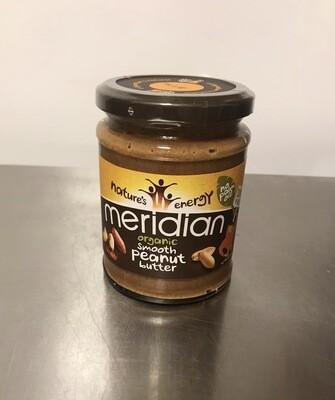 Meridian Organic Crunchy Peanut Butter Smooth