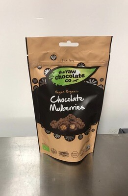 The Raw Chocolate Co Chocolate covered Mulberries
