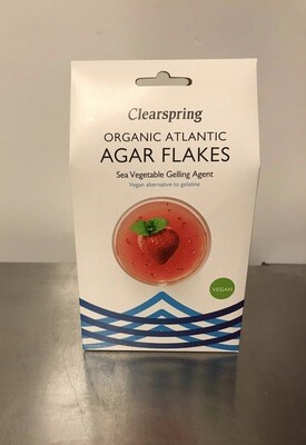 Clearspring Agar Flakes gelling Agent