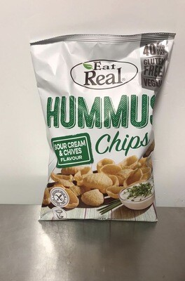 Eat Real Hummus Sour Cream and Chive Chips