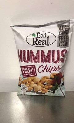 Eat Real Hummus Tomato and Basil Chips