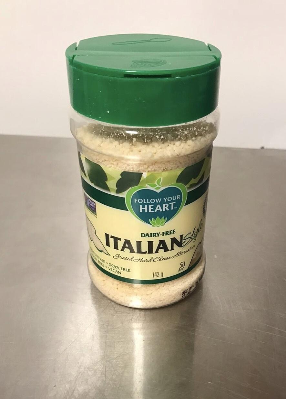 Follow your heart Vegan Parmesan grated