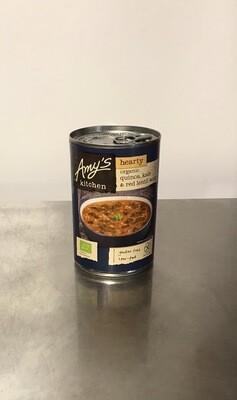 Amys Kitchen Quinoa, Kale & Red Lentil Soup