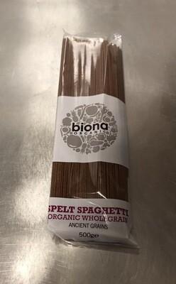 Biona Wholegrain Spelt Spaghetti