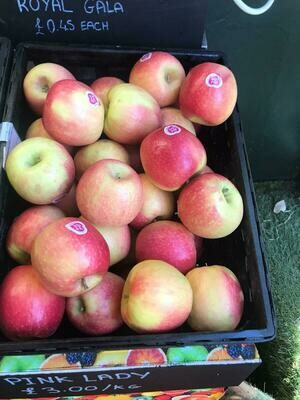 Pink Lady Apples each