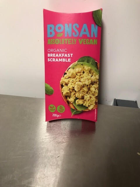 Bonsan Organic Breakfast Scramble 200gr