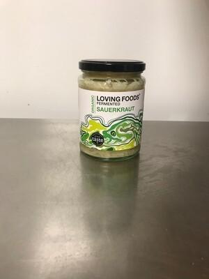 Loving Foods Organic Fermented Sauerkraut 500gr