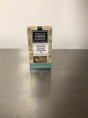 Ground Coriander Organic 40gr