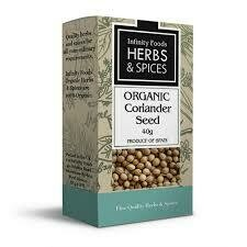 Infinity Foods - Herbs and Spices - Coriander Seed