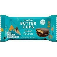 Love Raw – Vegan Chocolate Butter Cups (Salted Caramel)