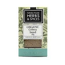 Infinity Foods - Herbs and Spices - Organic Celery Seed