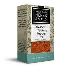 Infinity Foods - Herbs and Spices - Cayenne Pepper