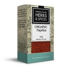 Infinity Foods - Herbs and Spices - Paprika