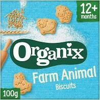 Organix – Farm Animal Biscuits