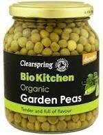 Clearspring – Bio Kitchen – Organic Garden Peas