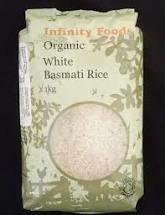 Infinity Foods -white Basmati Rice
