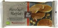 De RIT organics – Hazelnut waffles