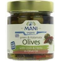 Mani – Olives – Green and Kalamata/Green, Kalamata