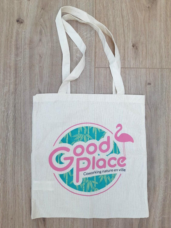 Tote-bag Good Place en coton écologique