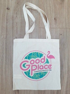 Tote-bag Good Place en coton écologique