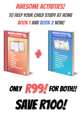 Awesome Activities! Book 1 & 2