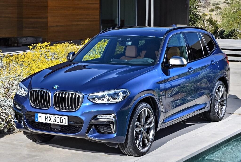 BMW X3 (G01) 2017-