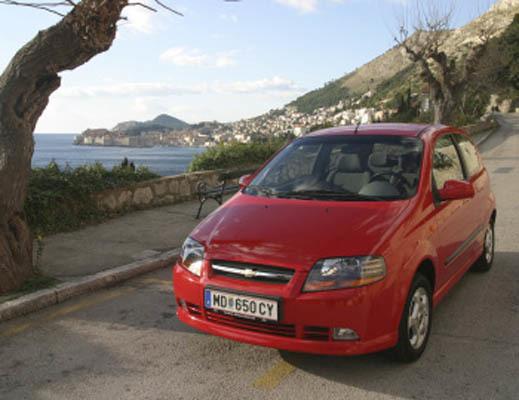 CHEVROLET Aveo (T200) 2003-2008