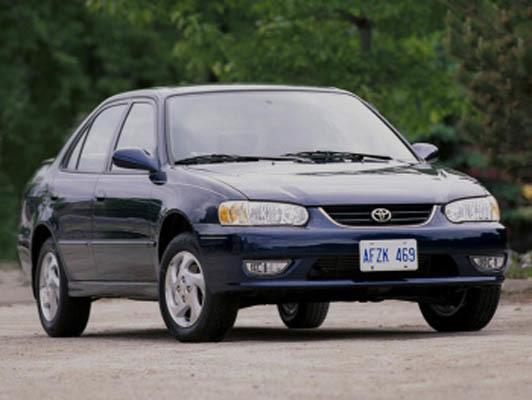 TOYOTA Corolla (E110) 1995-2002