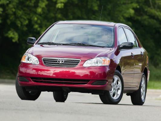 TOYOTA Corolla (E120) 2001-2007