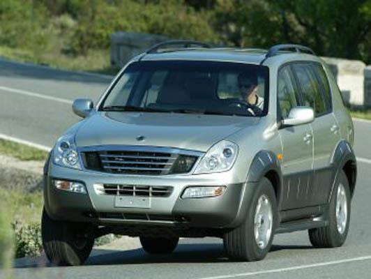 SSANGYONG Rexton (Y200, Y220) 2001-2006