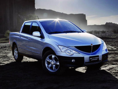 SSANGYONG Actyon Sports 2006-2011