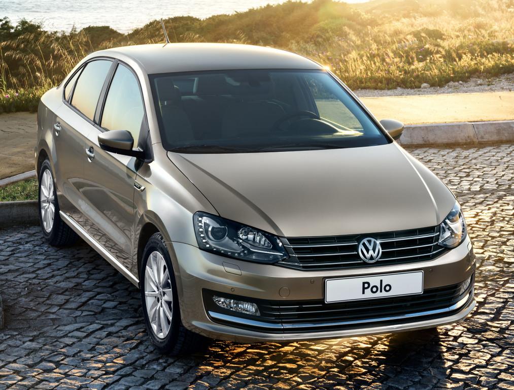 VOLKSWAGEN Polo Sedan RUS (614) 2015-