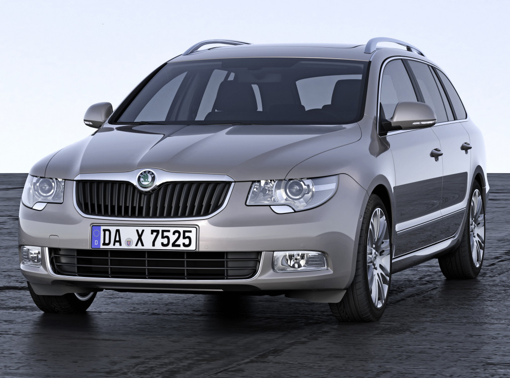 SKODA Superb II (3T) 2008-2015