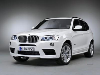 BMW X3 (F25) 2010-14-2017