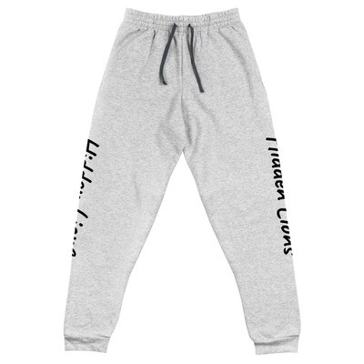 Sweatpant Joggers Grey - Legs Text