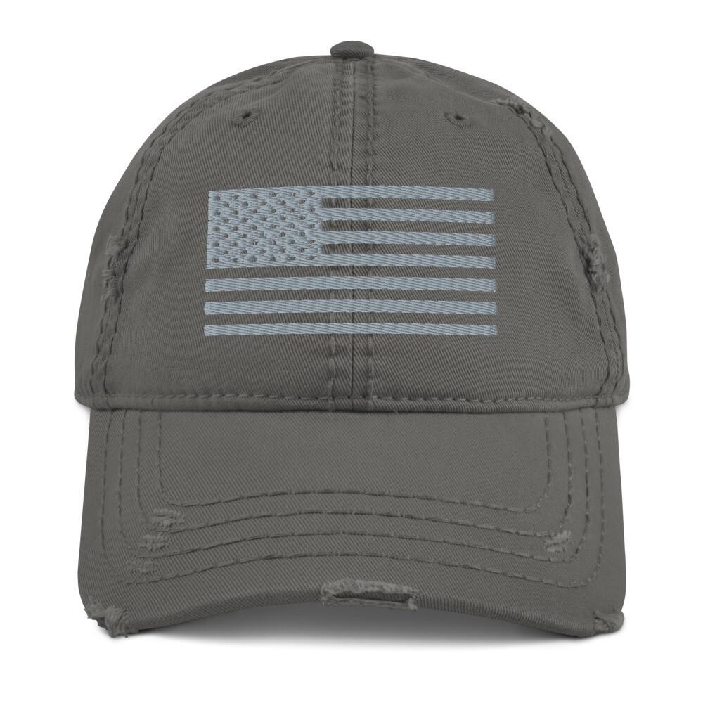 Cap - Distressed Style USA