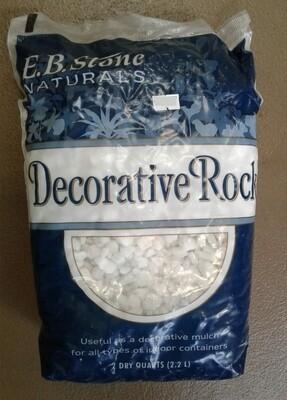 EB Stone Deco Rock White 2qt