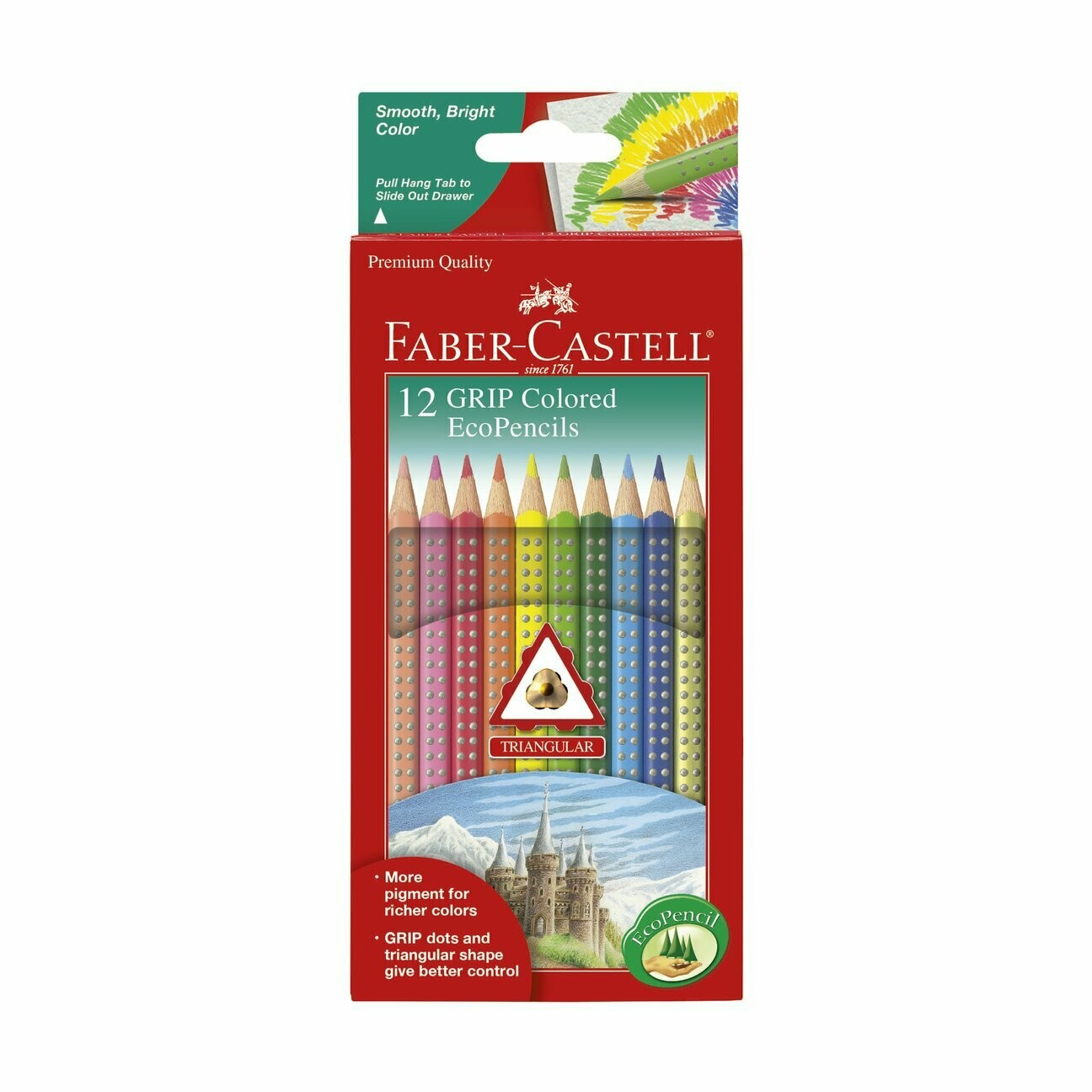 Grip Colored EcoPencils Set of 12