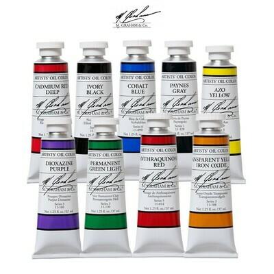 37mL M. Graham Oil Colors