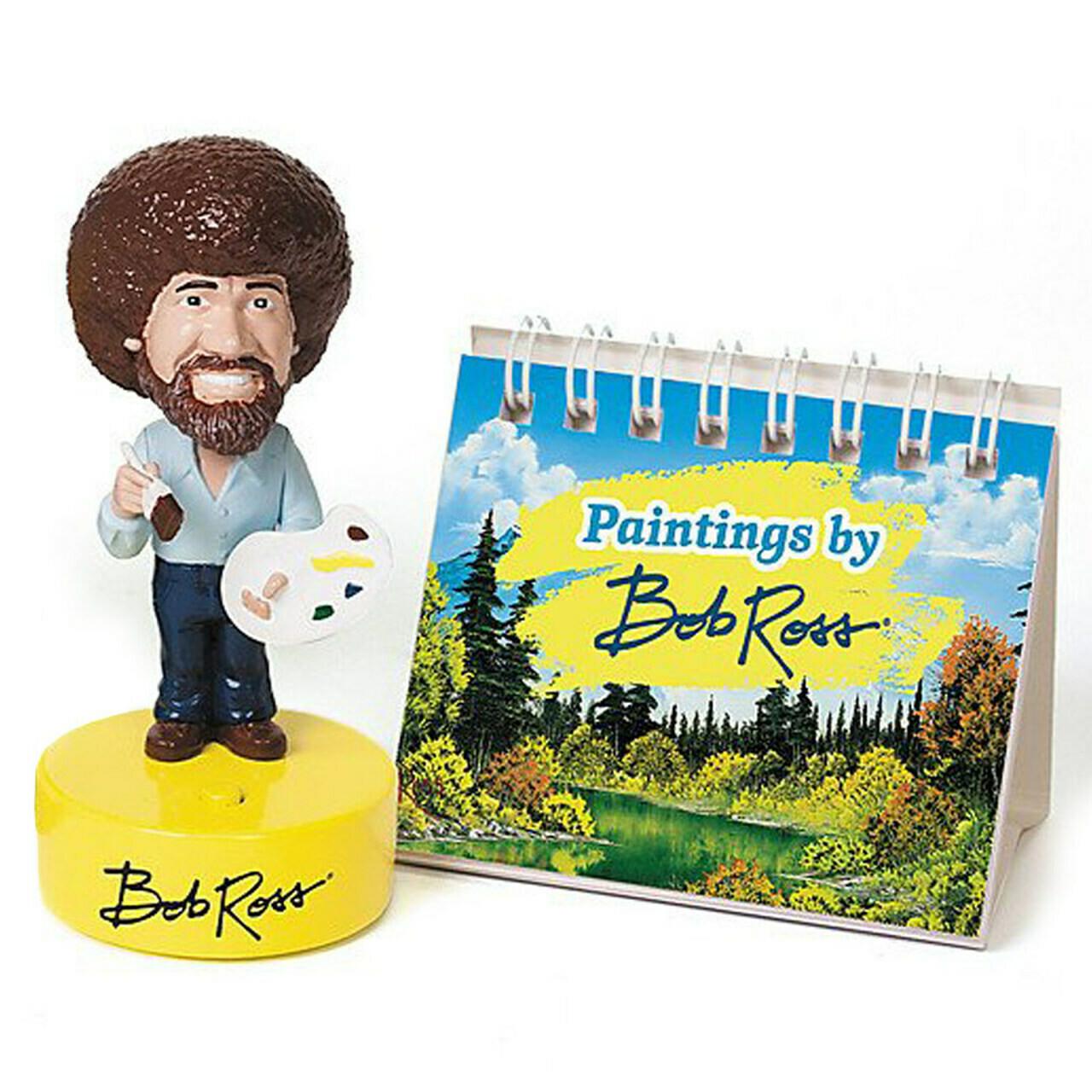 Bob Ross Mini Bobblehead